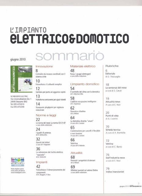 Rivista-Domotica-L'impianto-Domotico